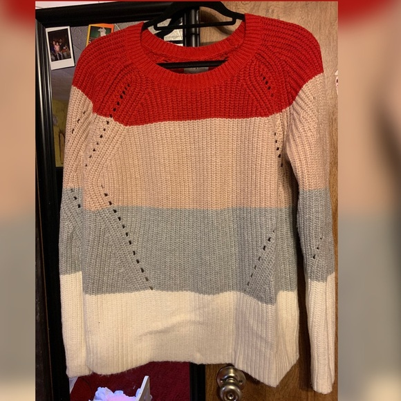 Lucky Brand Sweaters - Lucky Brand color block knit